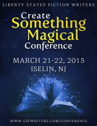 LIberty States Writers Conference - Create Something Magical