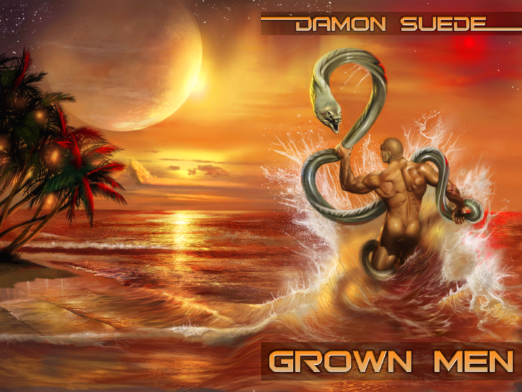 Grown Men, a sci-fi M/M by Damon Suede