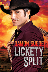 Lickety Split, a homoerotic cowboy cotemporary by Damon Suede